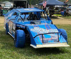 Blake Davis #47 Modified Dirt Race Car